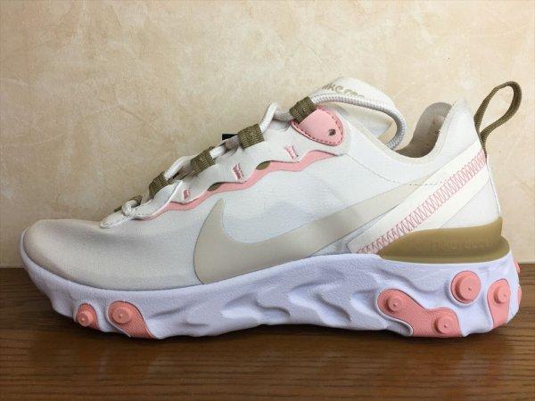 画像1: NIKE(ナイキ)  REACT ELEMENT 55(リアクトエレメント55) スニーカー 靴 ウィメンズ 新品 (328) (1)