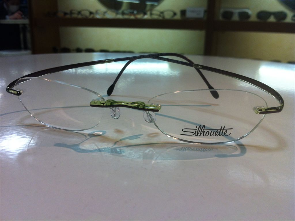 画像5: Silhoette(シルエット) SPX(エスピーエックス) メガネフレーム 50サイズ 新品