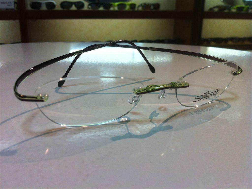 画像3: Silhoette(シルエット) SPX(エスピーエックス) メガネフレーム 50サイズ 新品