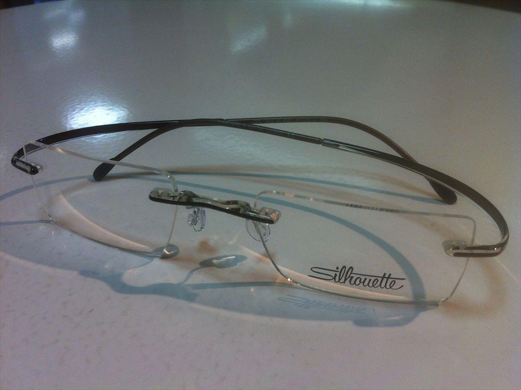 画像1: Silhoette(シルエット) SPX(エスピーエックス) メガネフレーム 47サイズ 新品