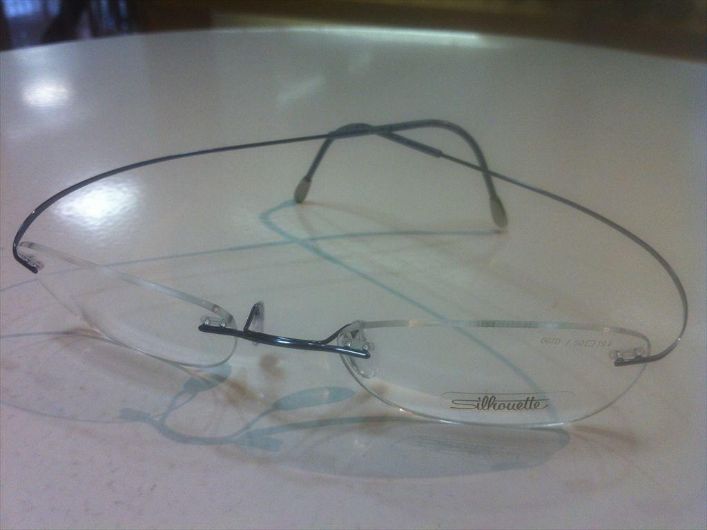 画像1: Silhoette(シルエット) TITAN MINIMAL ART(チタンミニマルアート) メガネフレーム 50サイズ 新品