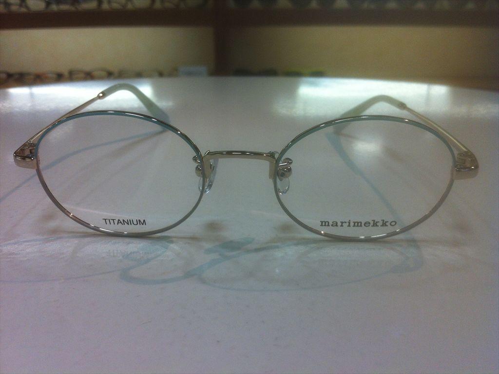 画像2: marimekko(マリメッコ) メガネフレーム 48サイズ 新品