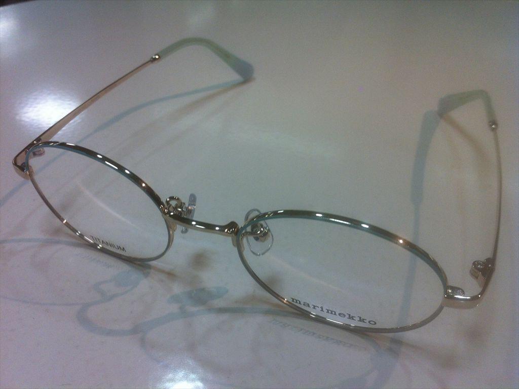 画像1: marimekko(マリメッコ) メガネフレーム 48サイズ 新品