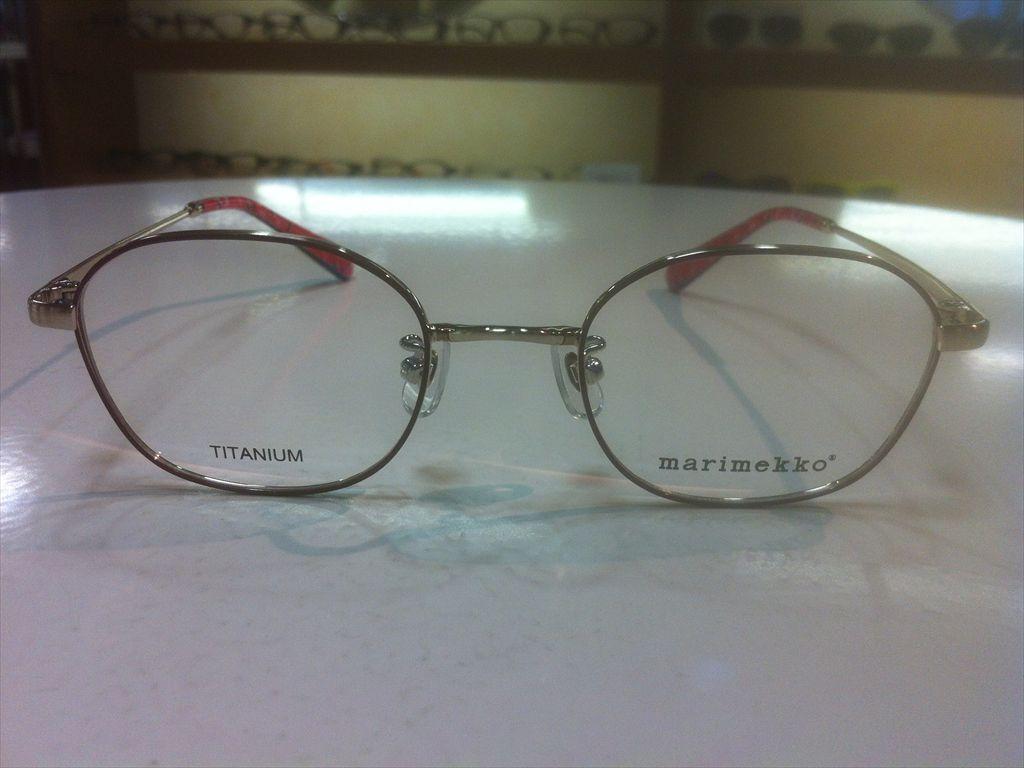 画像2: marimekko(マリメッコ) メガネフレーム 46サイズ 新品