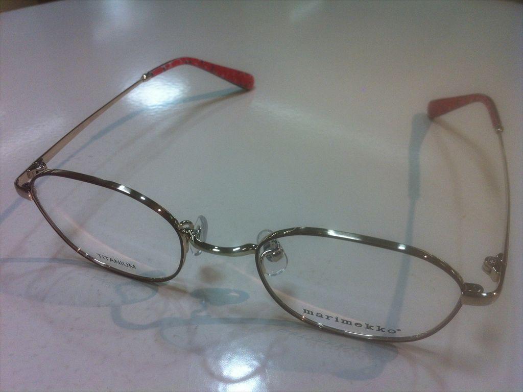 画像1: marimekko(マリメッコ) メガネフレーム 46サイズ 新品