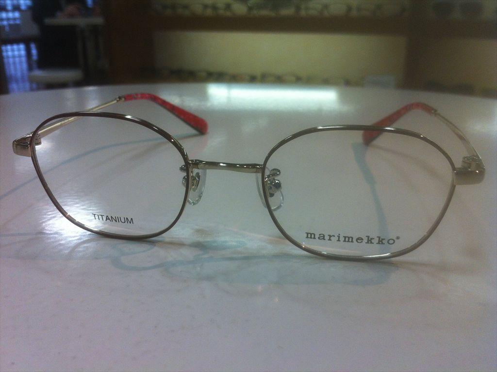 画像5: marimekko(マリメッコ) メガネフレーム 46サイズ 新品