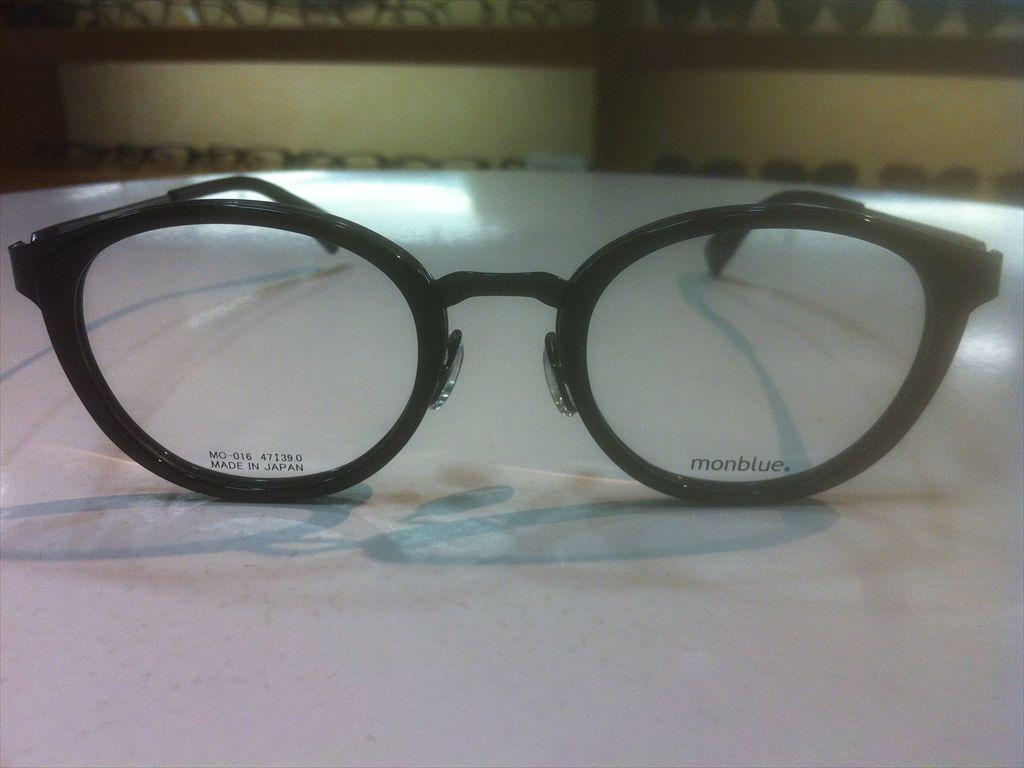 画像2: monblue(モンブルー) メガネフレーム 47サイズ 新品
