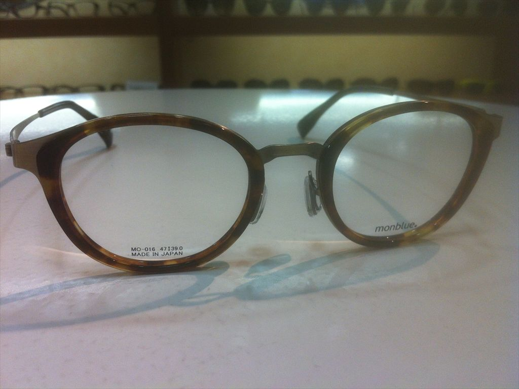 画像3: monblue(モンブルー) メガネフレーム 47サイズ 新品