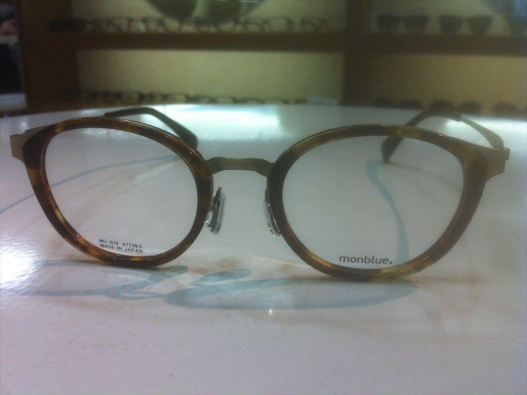 画像5: monblue(モンブルー) メガネフレーム 47サイズ 新品