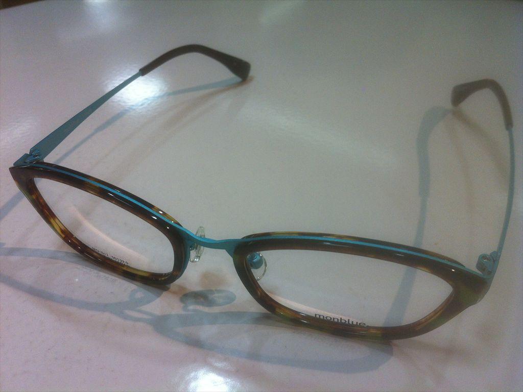 画像1: monblue(モンブルー) メガネフレーム 50サイズ 新品