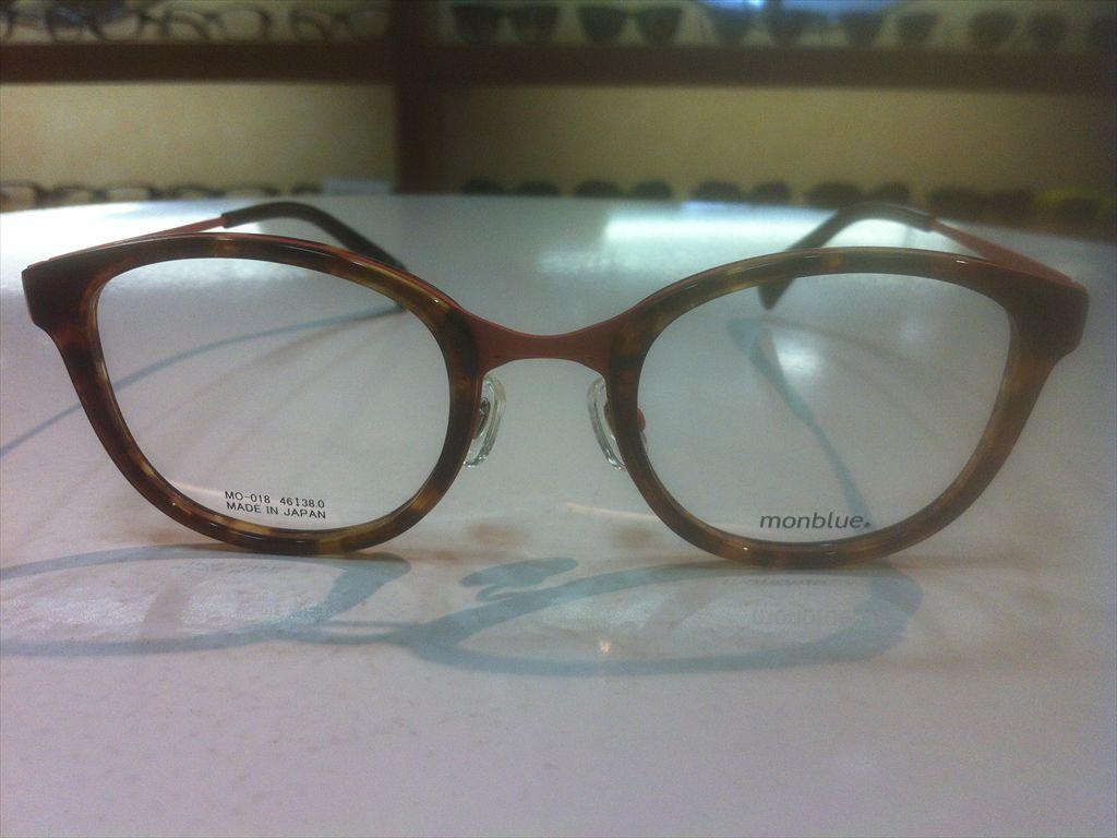 画像2: monblue(モンブルー) メガネフレーム 46サイズ 新品