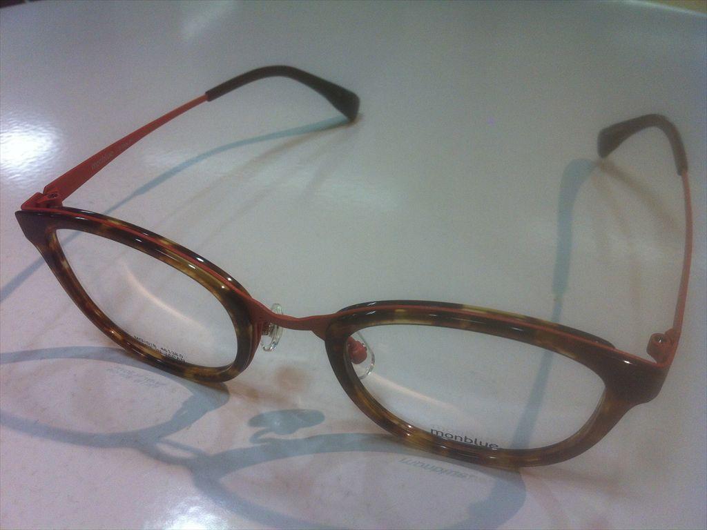 画像1: monblue(モンブルー) メガネフレーム 46サイズ 新品