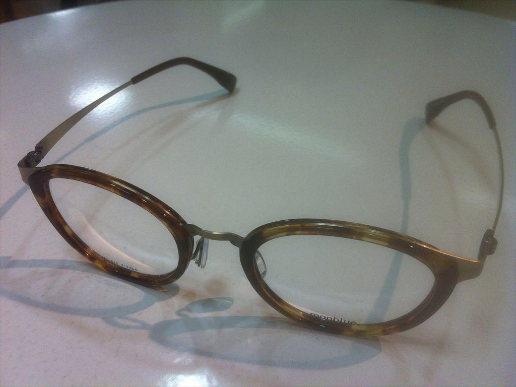 画像1: monblue(モンブルー) メガネフレーム 47サイズ 新品
