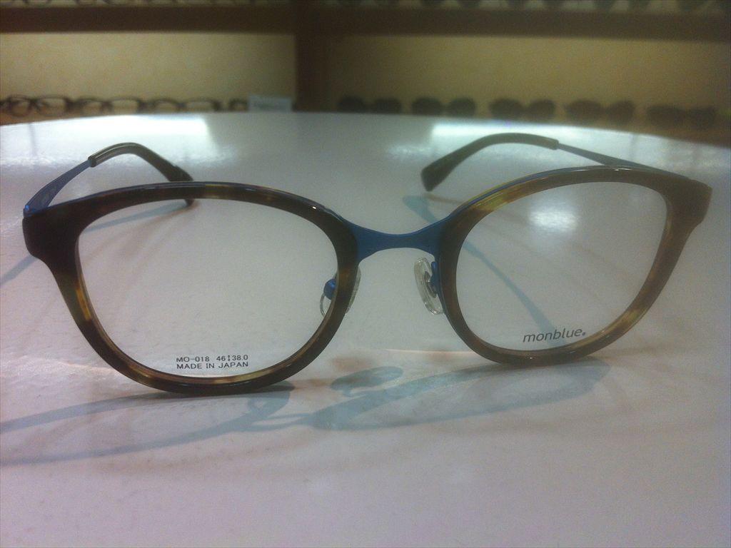 画像3: monblue(モンブルー) メガネフレーム 46サイズ 新品