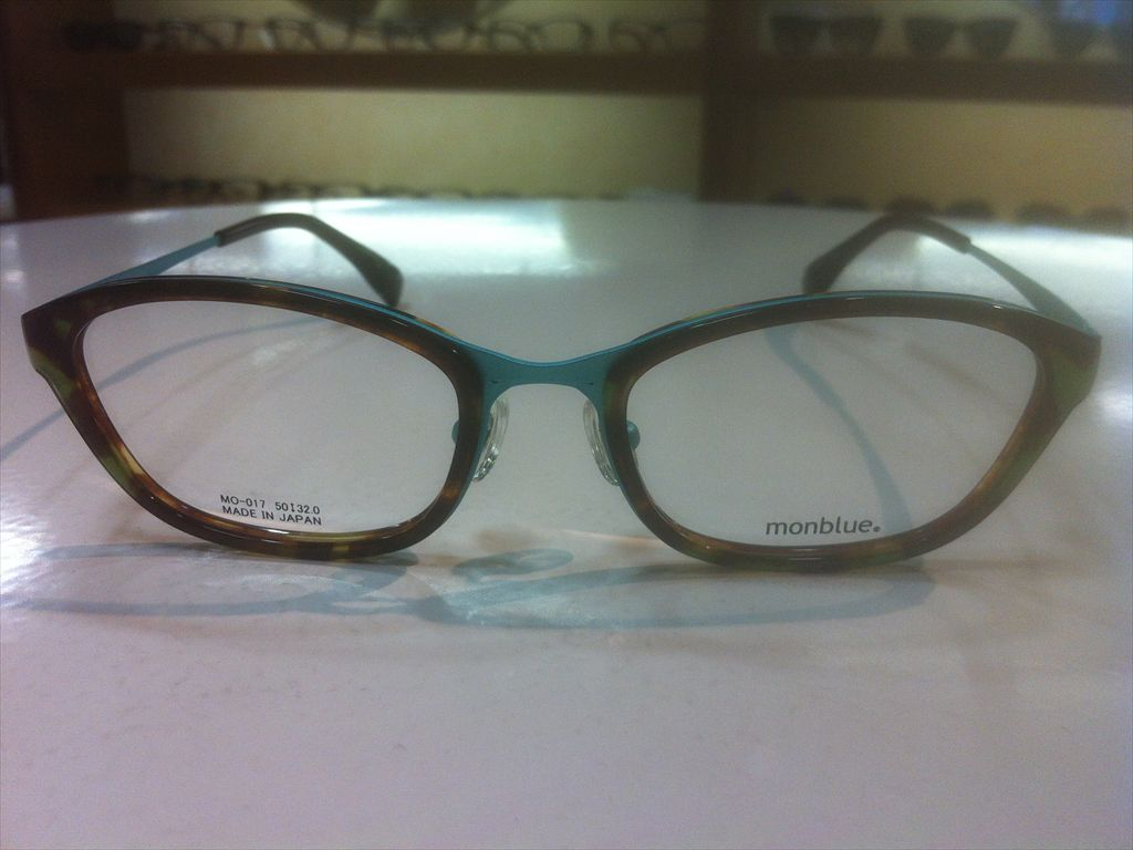 画像2: monblue(モンブルー) メガネフレーム 50サイズ 新品