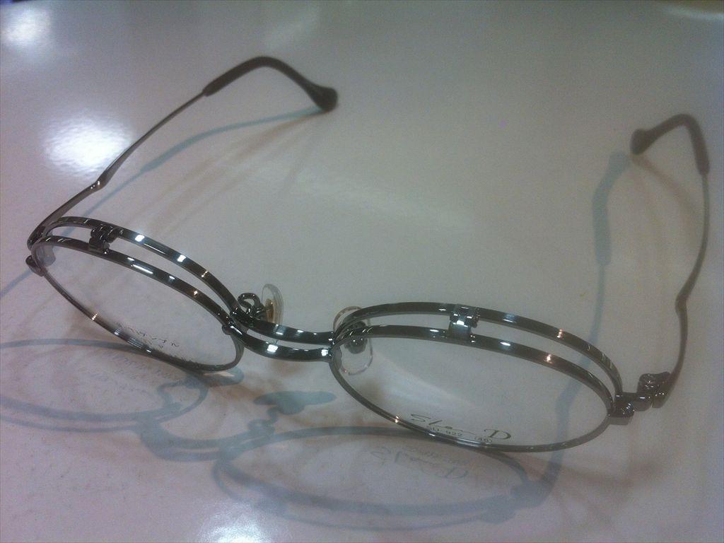 画像1: 跳ね上げ(ハネアゲ)式フレーム(単式) SlenD(スレンD) メガネフレーム 46サイズ 新品