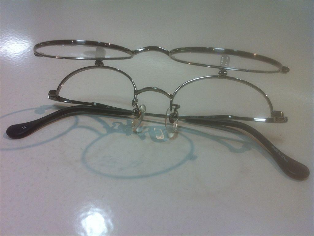 画像5: 跳ね上げ(ハネアゲ)式フレーム(単式) SlenD(スレンD) メガネフレーム 46サイズ 新品