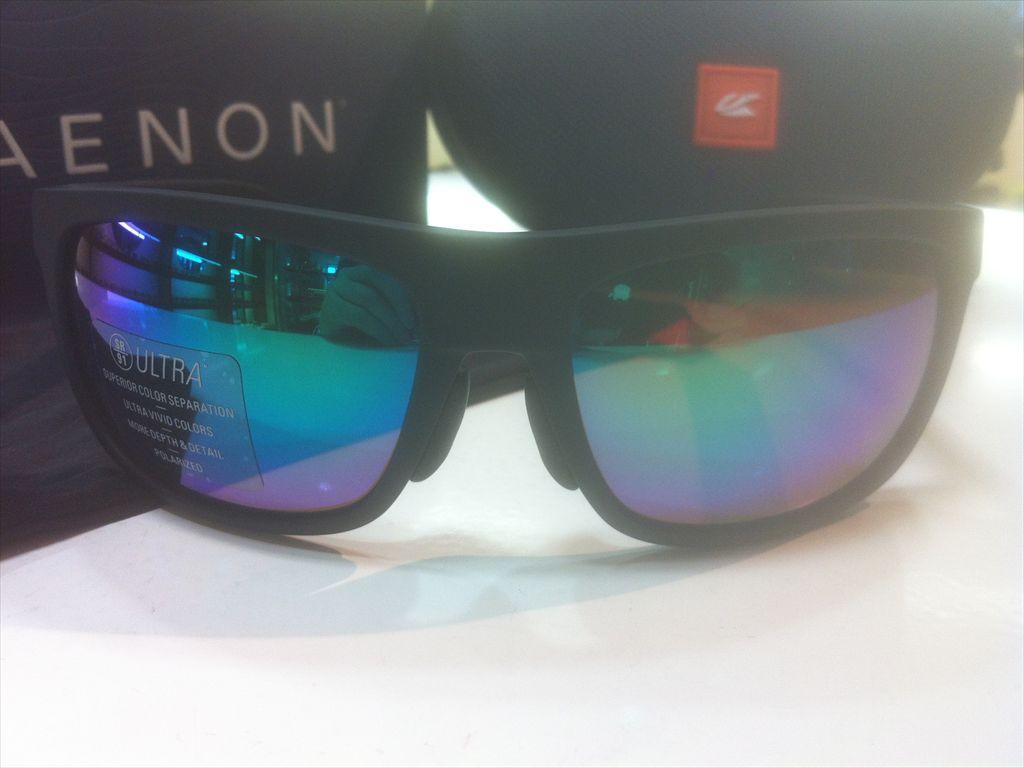 画像2: KAENON(ケーノン)  BURNET MID(バーネットミッド) 偏光サングラス 新品