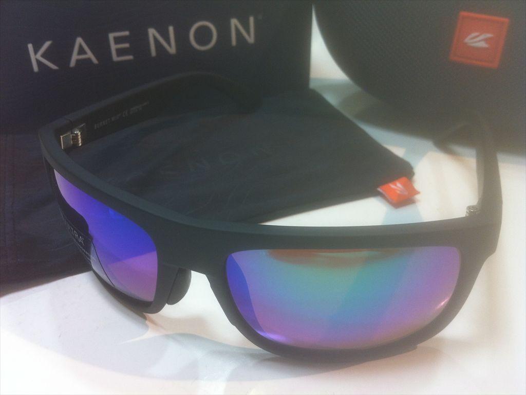 画像1: KAENON(ケーノン)  BURNET MID(バーネットミッド) 偏光サングラス 新品