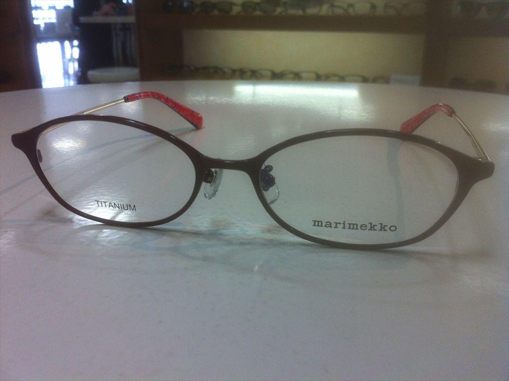 画像5: marimekko(マリメッコ) メガネフレーム 51サイズ 新品
