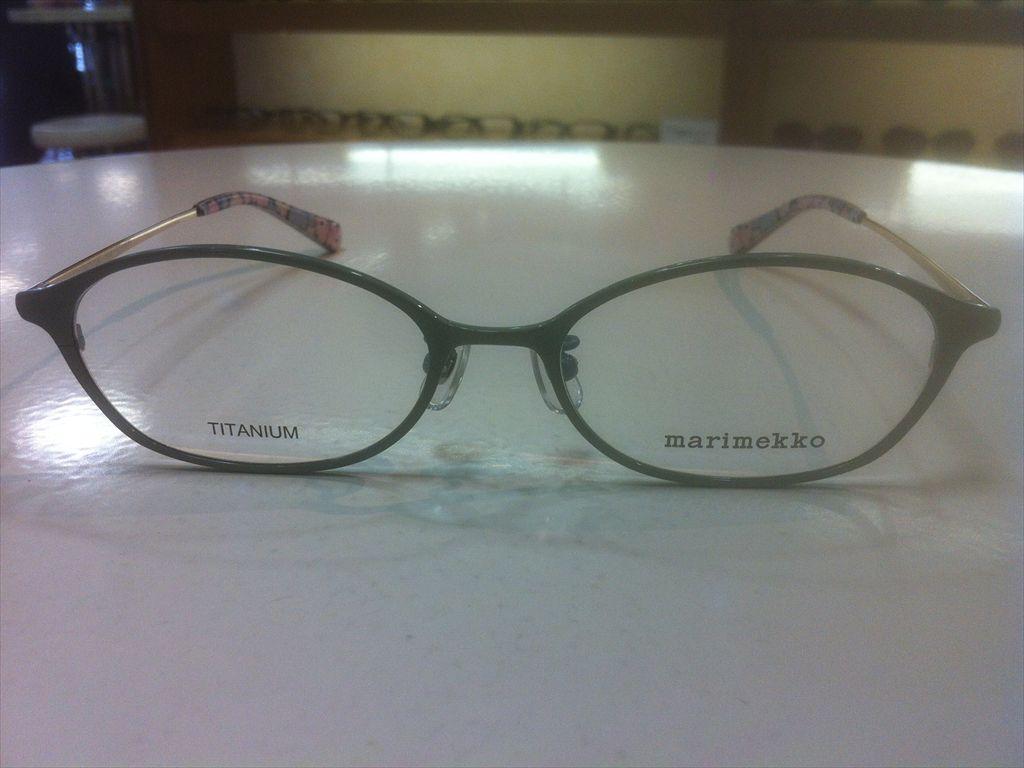 画像2: marimekko(マリメッコ) メガネフレーム 51サイズ 新品