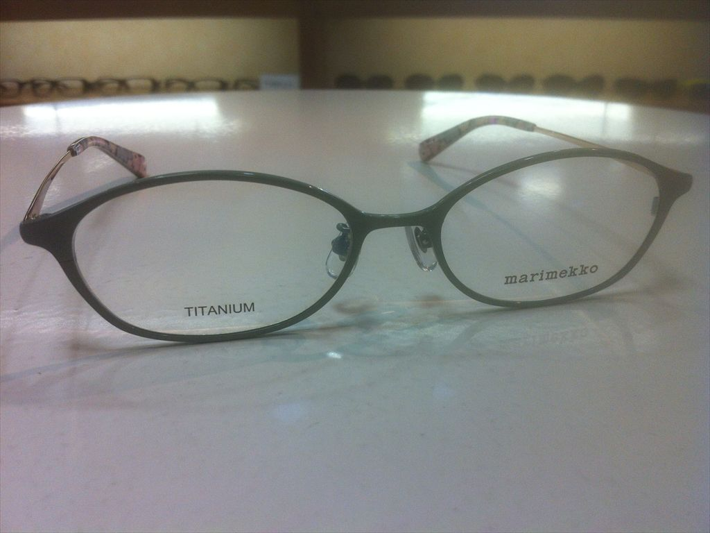 画像3: marimekko(マリメッコ) メガネフレーム 51サイズ 新品