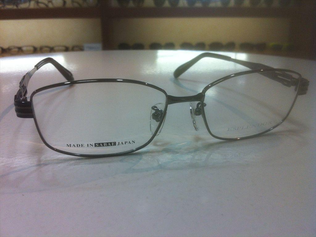 画像3: ESPLENDOR(エスプレンドール) メガネフレーム 紳士用 54サイズ 新品