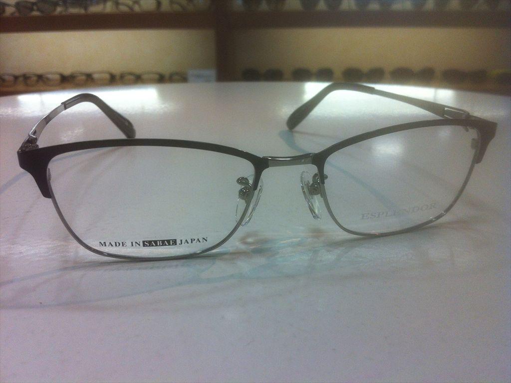 画像3: ESPLENDOR(エスプレンドール) メガネフレーム 紳士用 53サイズ 新品