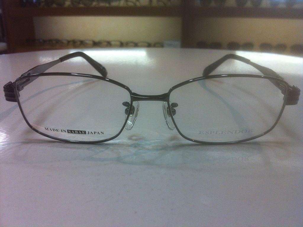 画像2: ESPLENDOR(エスプレンドール) メガネフレーム 紳士用 54サイズ 新品