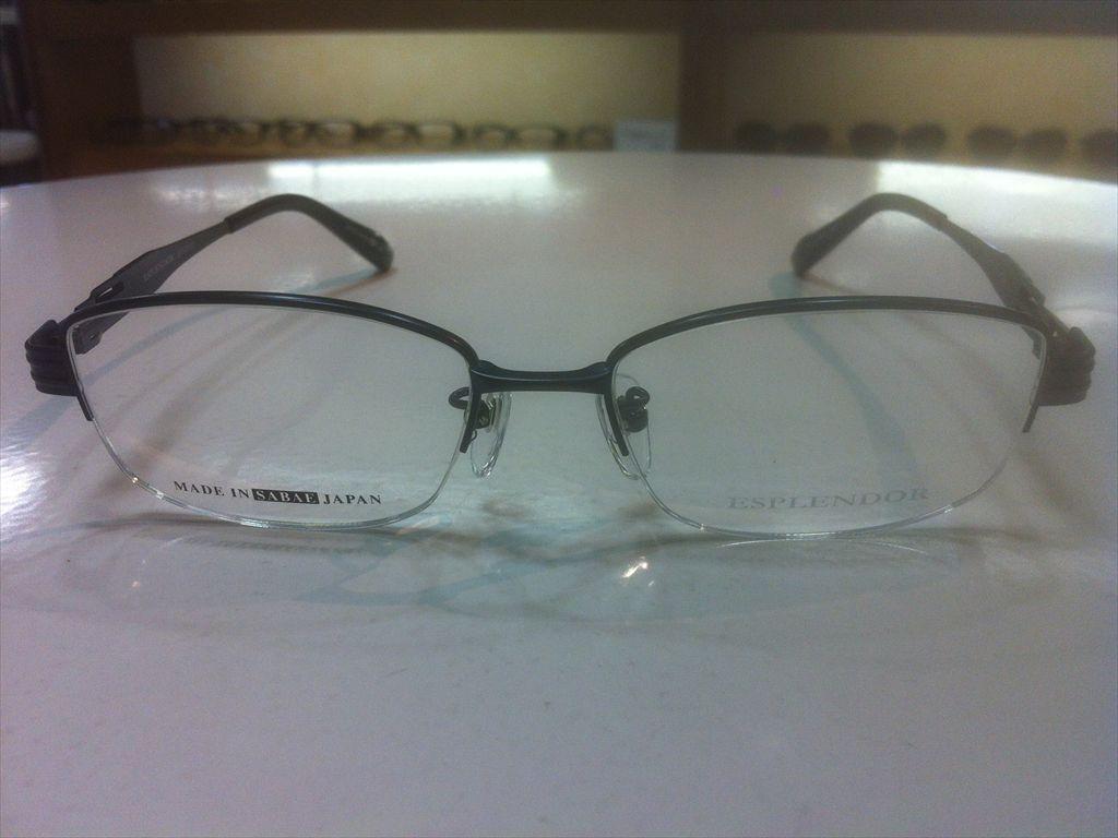 画像2: ESPLENDOR(エスプレンドール) メガネフレーム 紳士用 53サイズ 新品