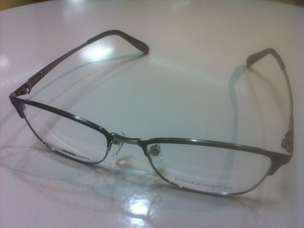 画像1: ESPLENDOR(エスプレンドール) メガネフレーム 紳士用 53サイズ 新品