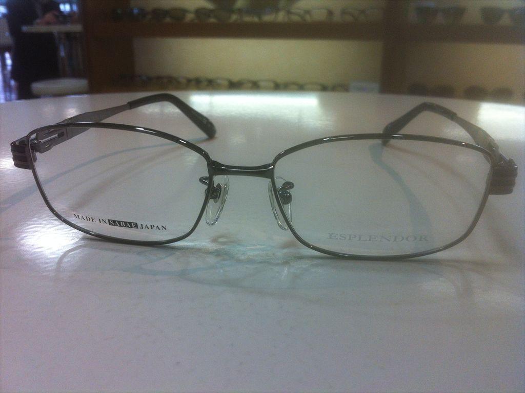 画像5: ESPLENDOR(エスプレンドール) メガネフレーム 紳士用 54サイズ 新品