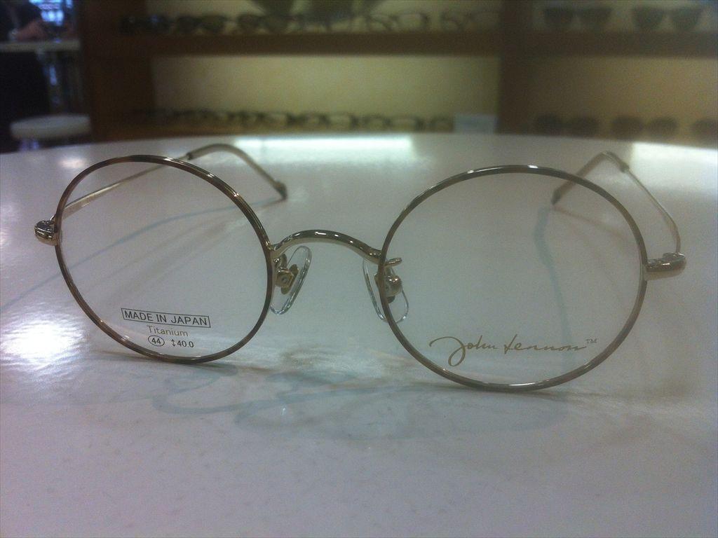 画像5: John Lennon(ジョンレノン) 丸型メガネフレーム 44サイズ 新品