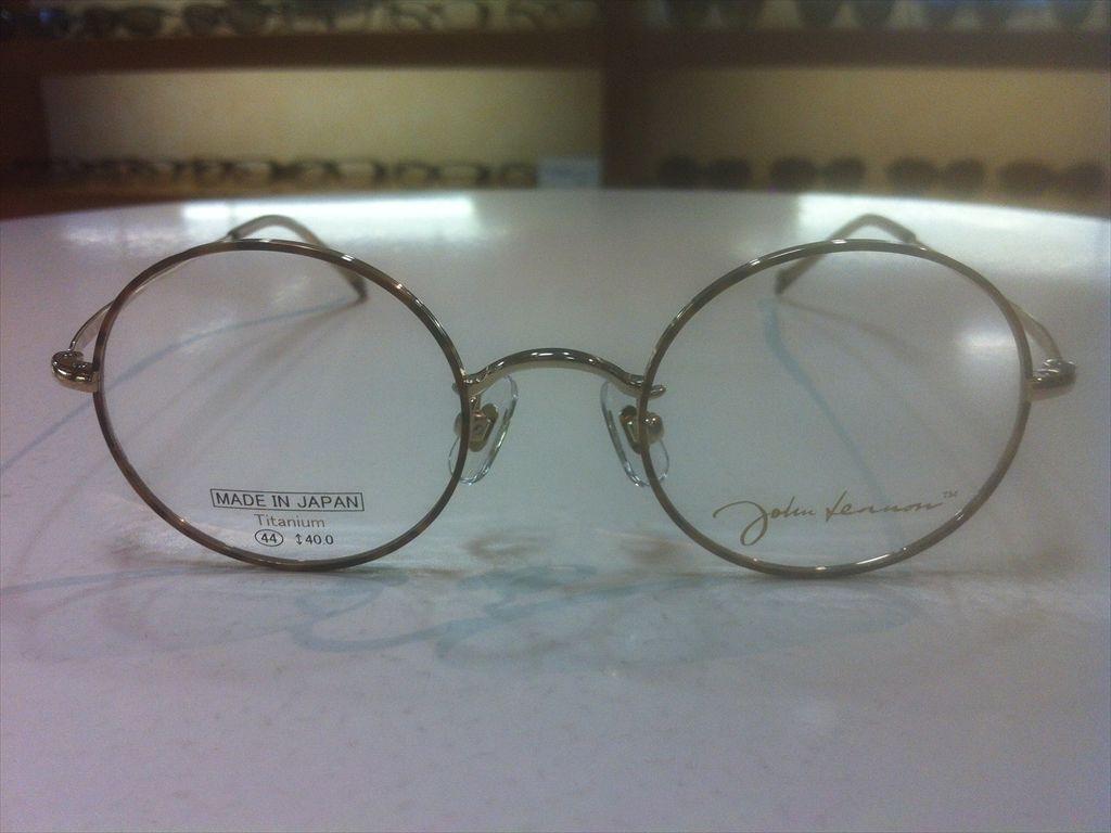 画像2: John Lennon(ジョンレノン) 丸型メガネフレーム 44サイズ 新品