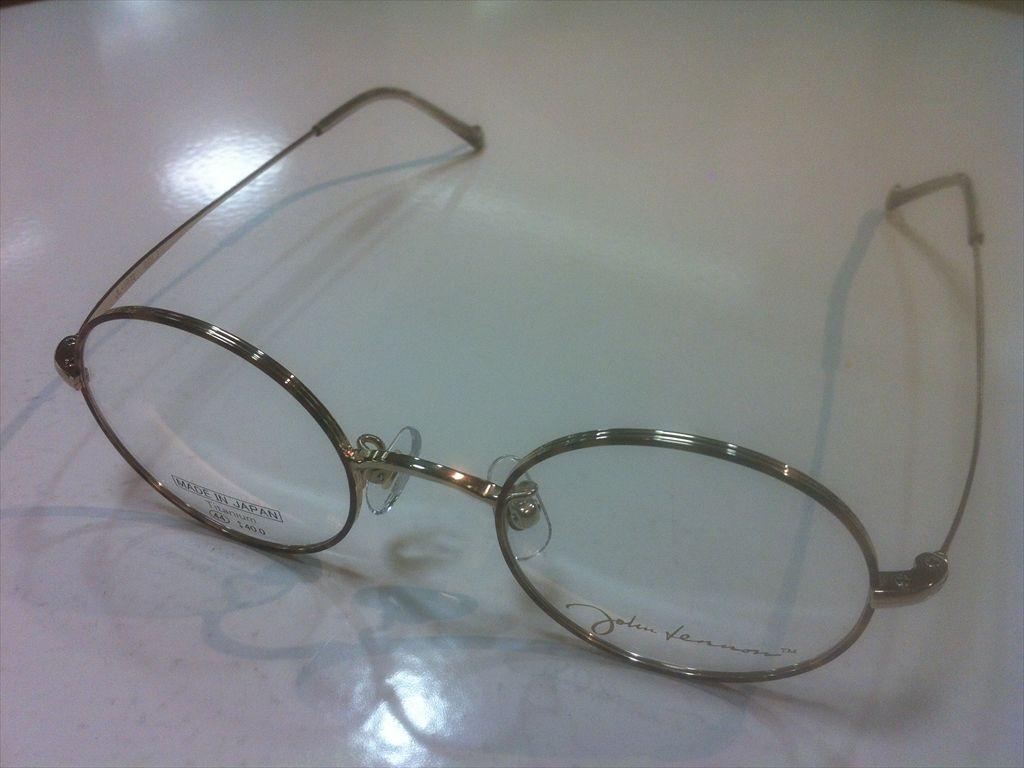 画像1: John Lennon(ジョンレノン) 丸型メガネフレーム 44サイズ 新品