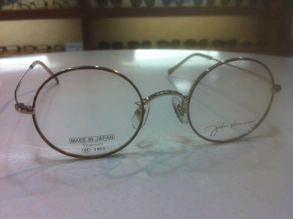 画像3: John Lennon(ジョンレノン) 丸型メガネフレーム 44サイズ 新品