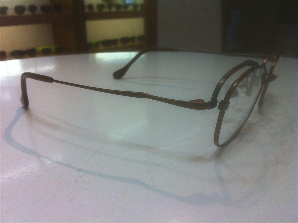 画像4: 跳ね上げ(ハネアゲ)式フレーム(単式) SlenD(スレンD) メガネフレーム 46サイズ 新品