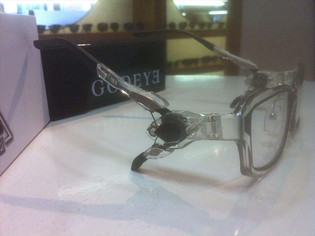 画像4: GODEYE(ゴッドアイ) ゲーミンググラス ゲーマー用メガネ 56サイズ 新品