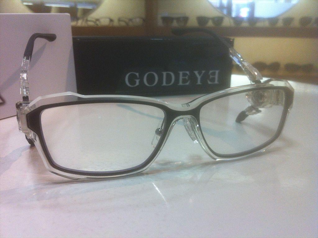画像3: GODEYE(ゴッドアイ) ゲーミンググラス ゲーマー用メガネ 56サイズ 新品