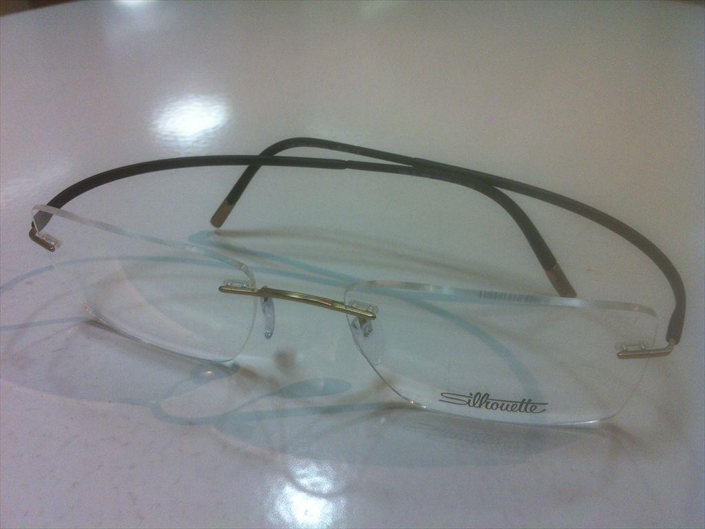 画像1: Silhoette(シルエット) ESSENCE(エッセンス) メガネフレーム 52サイズ 新品