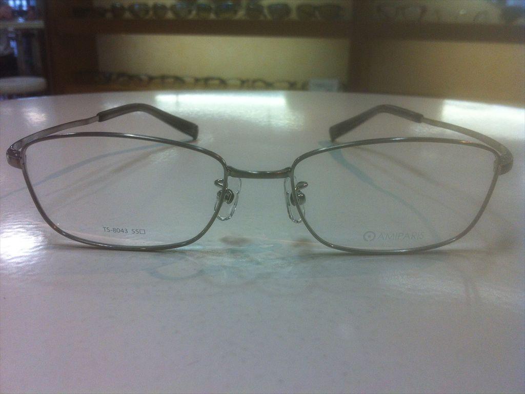 画像2: AMIPARIS(アミパリ) メガネフレーム 55サイズ 新品