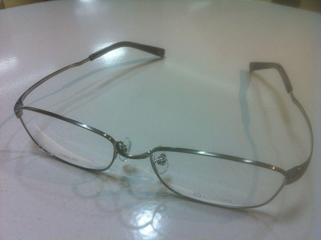 画像1: AMIPARIS(アミパリ) メガネフレーム 55サイズ 新品