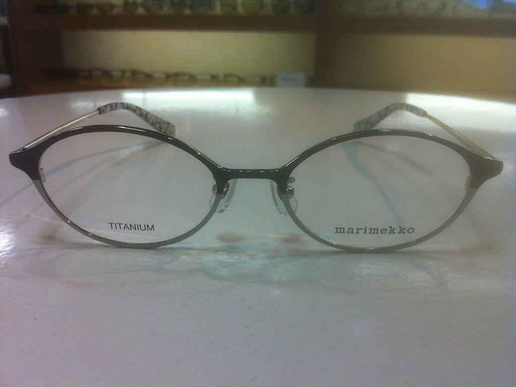 画像2: marimekko(マリメッコ) メガネフレーム 50サイズ 新品