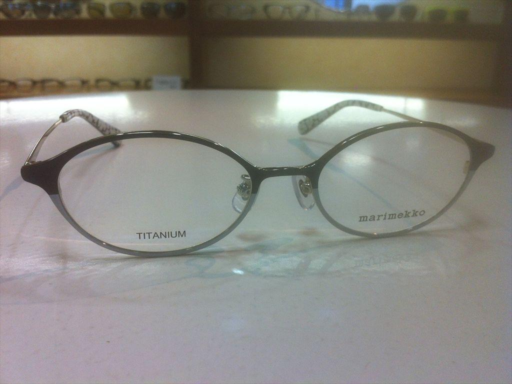 画像3: marimekko(マリメッコ) メガネフレーム 50サイズ 新品