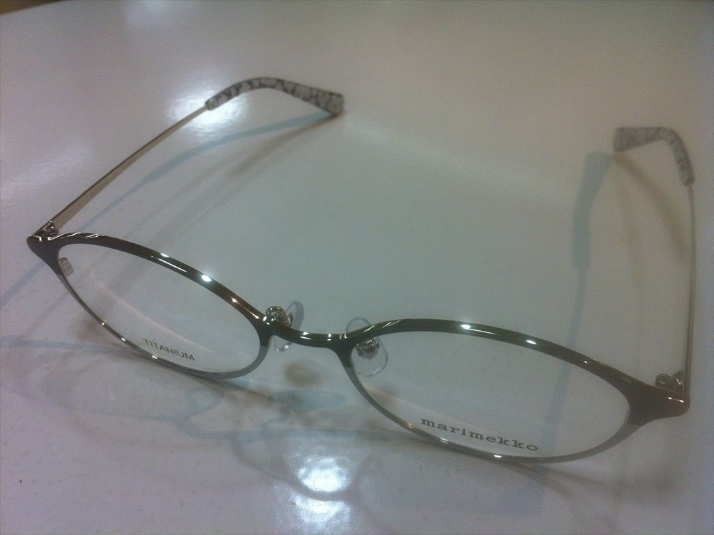 画像1: marimekko(マリメッコ) メガネフレーム 50サイズ 新品