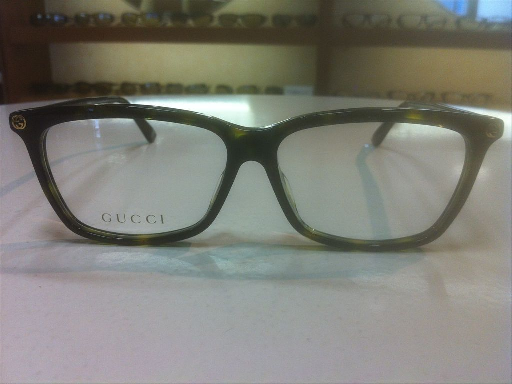 画像2: GUCCI(グッチ) メガネフレーム 新品 55サイズ