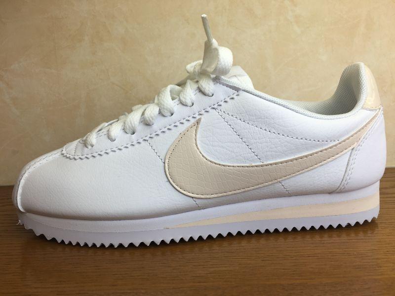 画像1: NIKE(ナイキ)  CLASSIC CORTEZ LEATHER(クラシックコルテッツレザー) スニーカー 靴 ウィメンズ 新品 (16)
