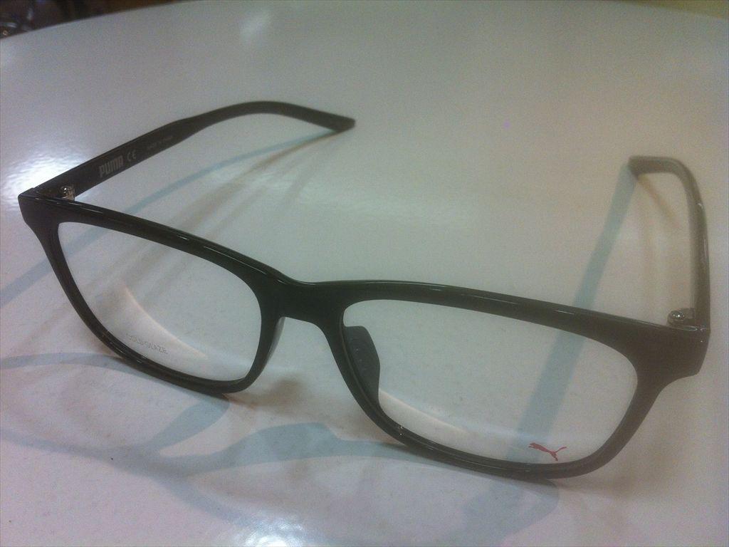 画像1: PUMA(プーマ) メガネフレーム 新品 55サイズ