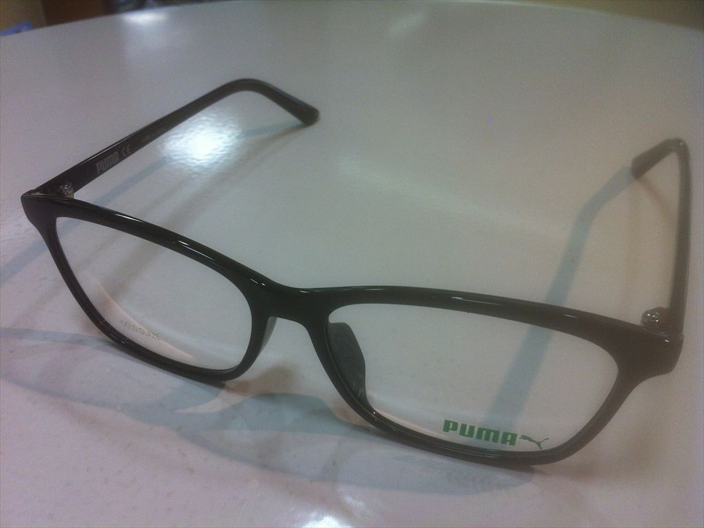 画像1: PUMA(プーマ) メガネフレーム 新品 54サイズ