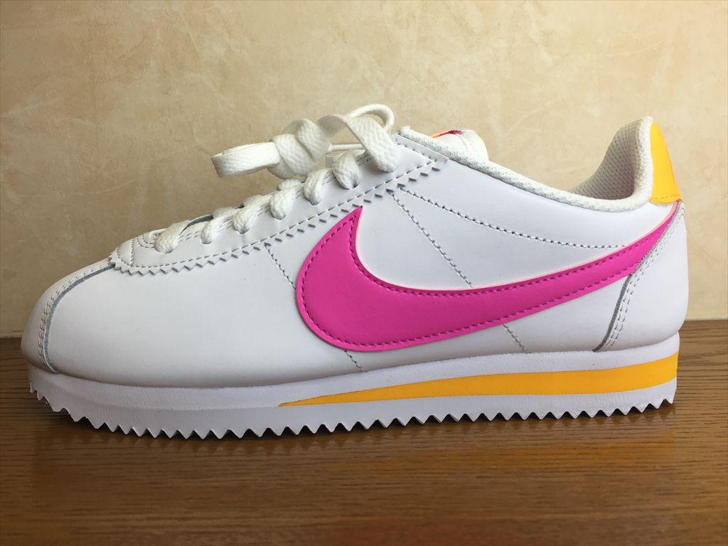 画像1: NIKE(ナイキ)  CLASSIC CORTEZ LEATHER(クラシックコルテッツレザー) スニーカー 靴 ウィメンズ 新品 (33)